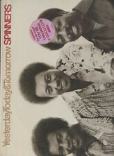 Spinners YESTERDAY TODAY & TOMORROW 12 in vinyl lp ATLANTIC SD 19100