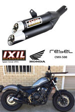 HONDA REBEL CMX 500 2017 IXIL L3X GENUINE EXHAUST SYSTEM PIPE SLIP ON CUSTOM SPA