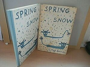 Spring In The Snow By Roger Duvoisin VERY RARE 1stEdition Children's Book 1963