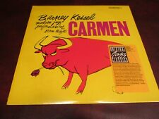BARNEY KESSEL CARMEN 1986 CONTEMPORPARY RECORDS RARE LIMITED LP W/STICKER SERIES