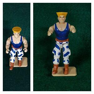 Vintage GI Joe Blue Guile Street Fighter NMT 1994 1986 Heli Viper