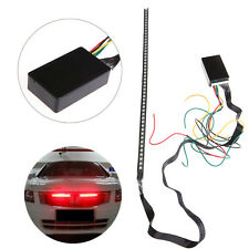 48 SMD 5050 LED RGB Scanner Flash Car Strobe Remote Knight Rider Light Strip