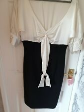 Balck and cream Definitions dress size 12