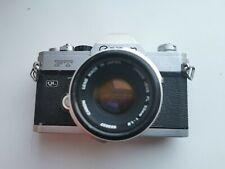 Canon + 50mm 1.8 FT Lenti 35mm SLR Fd film camera Pentax K1000