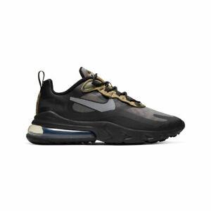 Nike Men's Air Max 270 React Black Camo Running Shoes CT5528-001