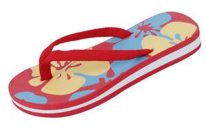 Brand New Children's Boys Girls Kids Sandals Flip Flops Thongs Casual Flowers