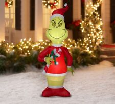 Grinch Tall Christmas Inflatable Decoration Yard Blow Ups Ornament Decor 5.5 ft