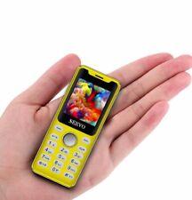 "Super Mini Cell Phone 1.3"" SERVO M6 Magic Voice Bluetooth Dialer Smallest Phone"