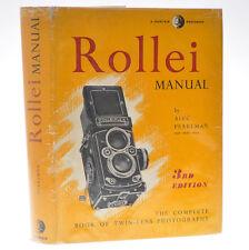"Alec Pearlman libro ""Rollei manual"" 1957 in inglese D631"