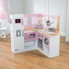 New! KidKraft Grand Gourmet Corner Play Kitchen PINK