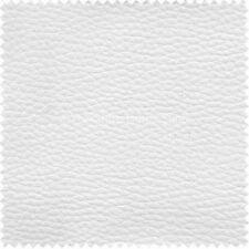 Tessuti e stoffe bianche in ecopelle per hobby creativi