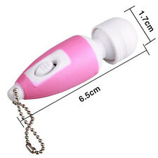 NEW Useful Mini Full Body Massage Stick Key-Chain Vibrate Relaxing Massager GE