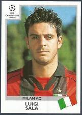 PANINI UEFA CHAMPIONS LEAGUE 1999-00- #294-AC MILAN-LUIGI SALA
