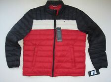 New Men Tommy Hilfiger Packable Down Puffer Jacket Size...