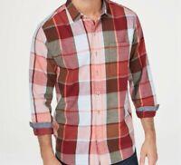 Tommy Bahama Multi Color Heredia Plaid Yarn Dyed Flannel Long Sleeve Shirt XL