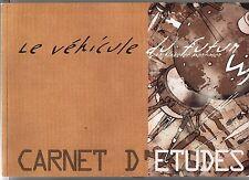 E.P. JACOBS. Le véhicule du futur. Carnet d'études. Citroën 2001. Publicitaire