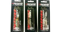 EVERGREEN C C PREDATOR 60mm 7.5g suspended  x3 colours  fishing lure
