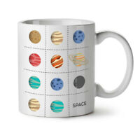 Planet Geek Cosmic NEW White Tea Coffee Mug 11 oz | Wellcoda