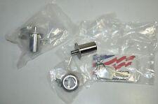 Medeco Plunger Lock 5 PIN Sliding Door Cabinet LOT 2  w/ key  # 62W61557T-26-PA