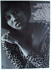 THE STAPLE SINGERS 1970 Poster Ad WHEN WILL BE PAID stax records WE'LL GET OVER