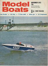 MODEL BOATS MAGAZINE NOVEMBER 1972