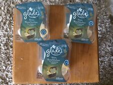 3 packs Glade PLUGINS SCENTED OIL REFILLS Warm Flannel Embrace - 6 total