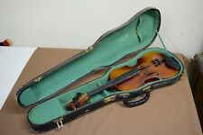 Copy of Franz Joseph Pfretschner violin, 3/4 size, made in Germany, with case