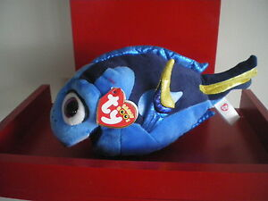 Ty Beanie Boos DORY the fish  23cm NWMT. NATURE'S HARVEST EXCLUSIVE - BRAND NEW.