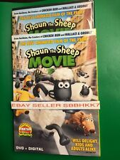 Shaun the Sheep Movie DVD + UV DIGITAL & SLIPCOVER AUTHENTIC NEW FREE SHIPPING!