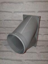 "Antminer DR5 S11 S15 T15 S17 T17 Z9 Z11 5"" Double fan duct GREY"