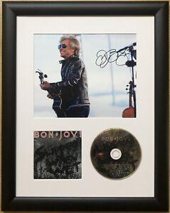 Jon Bon Jovi / Signed Photo / Autograph / Framed / COA