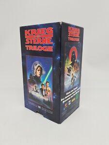 Krieg der Sterne Trilogie Star Wars (1995) Lucasfilm VHS Kassetten OVP