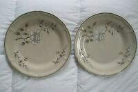 SOUTHAMPTON STONEWARE COLLECTION 1985 DINNER PLATE 10 1/2 IN LOT OF 2 Japan