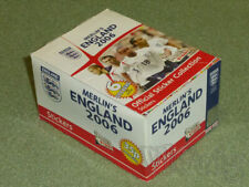 2006 England Merlin`s TOPPS - box 50 packets * 6 stickers