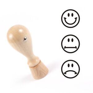 Smiley Stempel, Motivstempel, Smileystempel, Lehrerstempel Holzstempel [#1240]