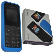 Nuevo Nokia 105-Cian Azul (Desbloqueado) teléfono móvil baratos libres SIM, Original