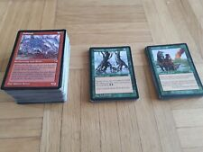 Magic The Gathering 152 sehr alte Karten - Tempest, Stonghold, Exodus