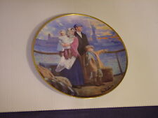 Franklin Mint, The Ellis Island Plate, GATEWAY TO AMERICA, #A1069