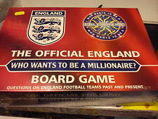 DRUMOND PARK THE OFFICAL ENGLAND WHO WANTS TO BE A MILLIONAIRE? GAME IS SEALED