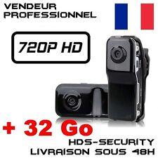 MINI DV SPORTS CAMERA SPY MD80 HD 720P + MICRO SD 32GB MD80B-HD VIDEO USB DVR