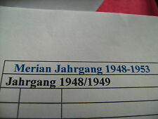 Merian Gesamtverzeichnis 1948-2020