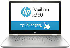 "HP Pavilion x360 - 14-ba070tu 14"" (128GB + 500GB,Core i5 7th Gen.,3.10GHz,8GB) 2-in-1 Laptop - Silver - 2JQ93PA"