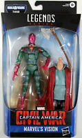 Marvel Legends ~ VISION ACTION FIGURE ~ CAPTAIN AMERICA CIVIL WAR ~ Hasbro