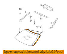 TOYOTA OEM Windshield-Dam 5611764010
