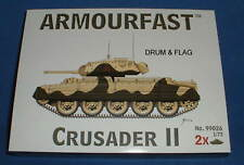 ARMOURFAST 99026. CRUSADER II. 1/72 SCALE TANKS