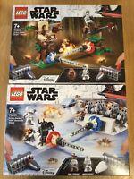 Lego Star Wars 75238 Action Battle Endor Assault & 75239 Hoth Generator Attack