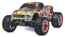 1/10 2.4G Exceed RC Radio Infinitive Nitro Gas RTR Monster 4WD Truck Stripe Red