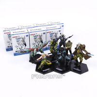 MÉTAL TRAIN SOLID 2: SONS OF LIBERTY - MGS2 - ENSEMBLE 7 FIGURINES / 7
