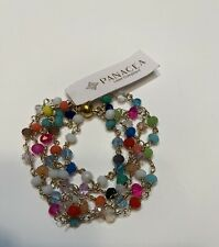 PANACEA MULTI-COLOR CRYSTAL BEAD BRACELET