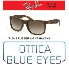 Occhiali da Sole RAYBAN JUSTIN RB 4165 710/13 RUBBER HAVANA Ray Ban Sunglasses